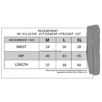 HD Xclusive Activewear (Straight Cut)